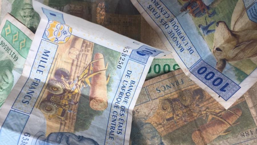 Des francs CFA de la zone Cemac (image d'illustration).