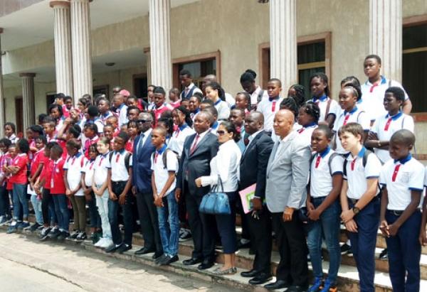 Les élèves ont manifesté leur enthousiasme à découvrir le fonctionnement de la mairie.