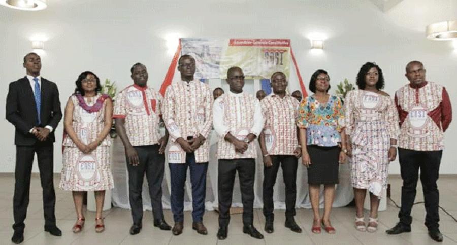 Aperu00e7u des membres du comitu00e9 de gestion de lu2019Ensi Alumni.