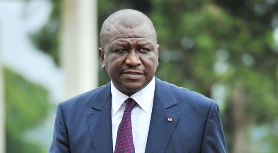 Hamed Bakayoko, maire d'Abobo.