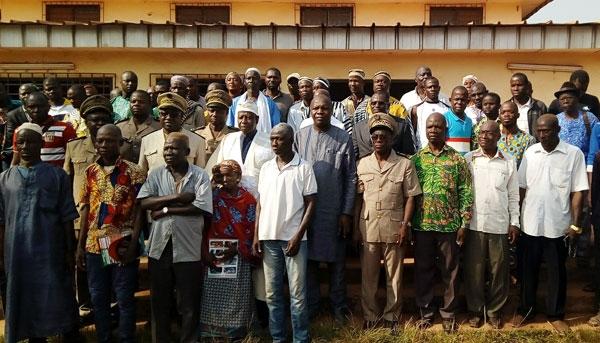Réconciliation durable: Toungara annonce la mise en place d'un comité de veille à Zouan-Hounien