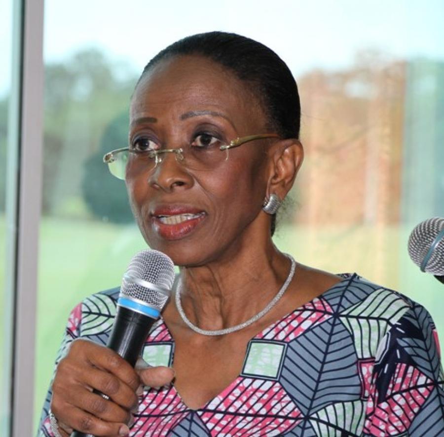 Prof Bakayoko- Ly Ramata, Ministre ivoirienne de la Famille, de la Femme et de l'Enfant