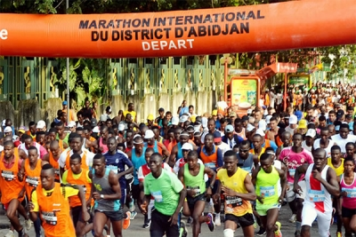 Marathon du district d'Abidjan : 5000 enfants démunis dans la course