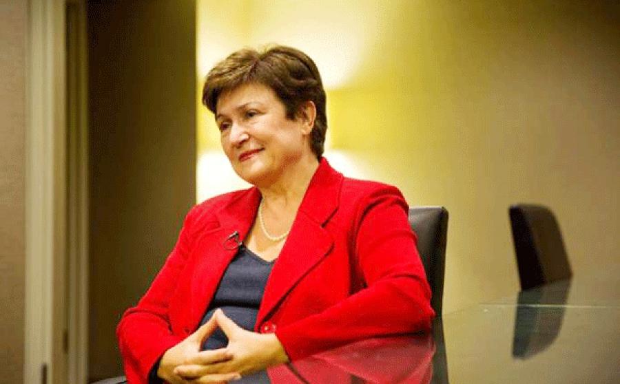 La Bulgare Kristalina Georgieva, actuelle numu00e9ro 2 de la Banque mondiale et candidate de l'Europe, au poste de directeur gu00e9nu00e9ral.