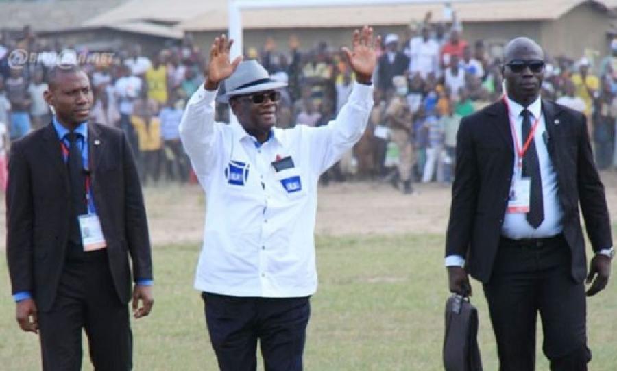Alassane Ouattara inaugure le pont de Bettié — Côte d'Ivoire