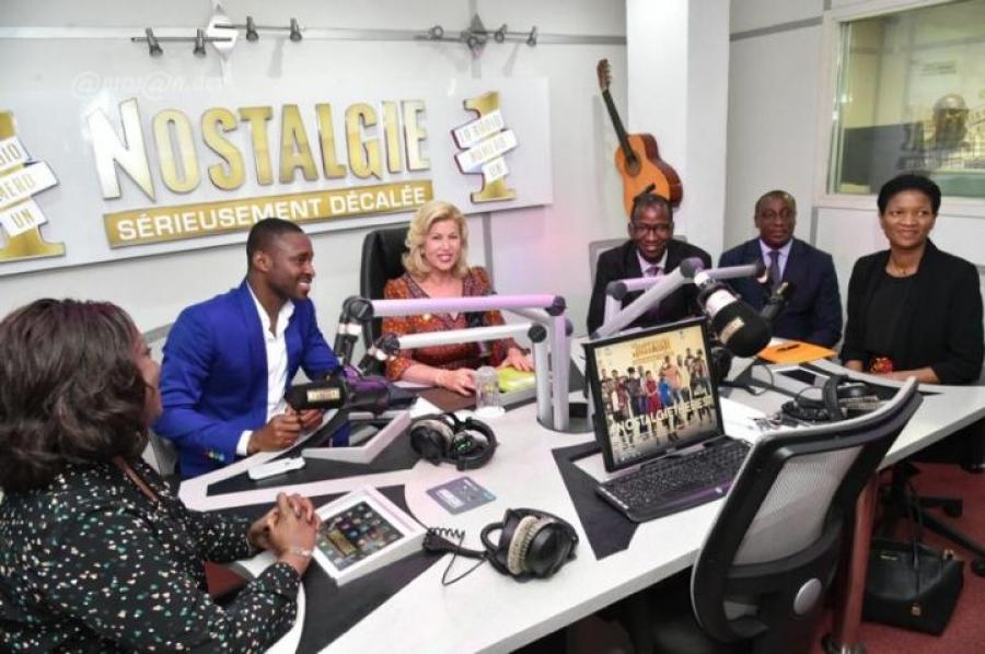 Célébration des 25 ans de Radio Nostalgie Côte d'Ivoire