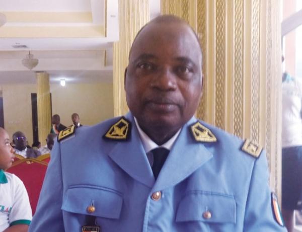 Le général Kourouma Mamadou, secrétaire exécutif du Comité interministériel de lutte anti-drogue.