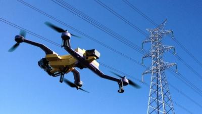 Réseau électrique haute tension : Le drone bientôt utilisé pour la maintenance