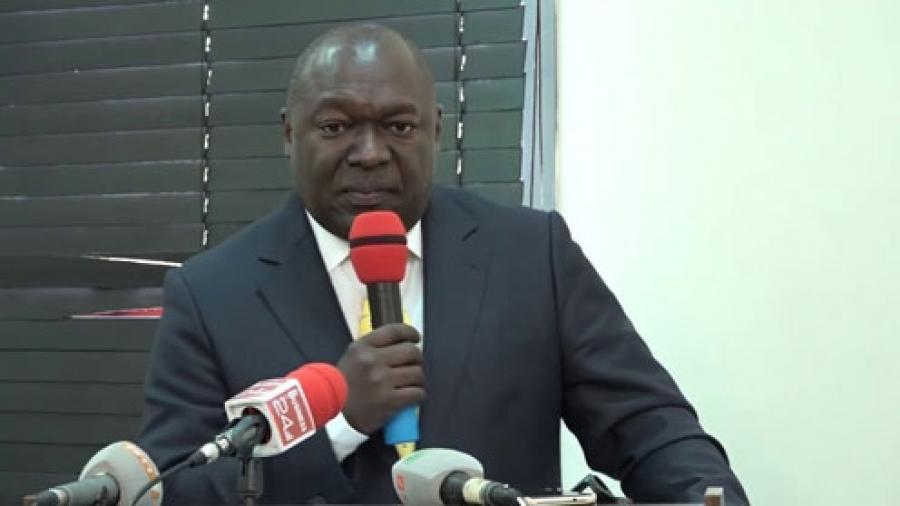 Dr Joseph Boguifo, pru00e9sident de lu2019Association des cliniques privu00e9es de Cu00f4te du2019Ivoire (Acpci).