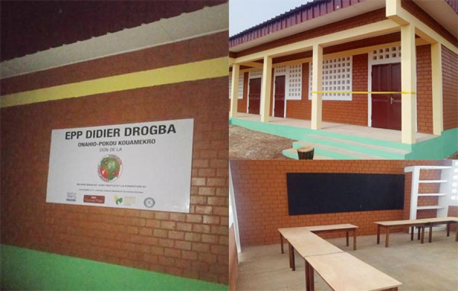 Didier Drogba lance une école à Gagnoa — Côte d'Ivoire