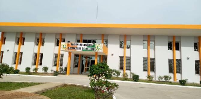 La préfecture de la ville de Katiola (D