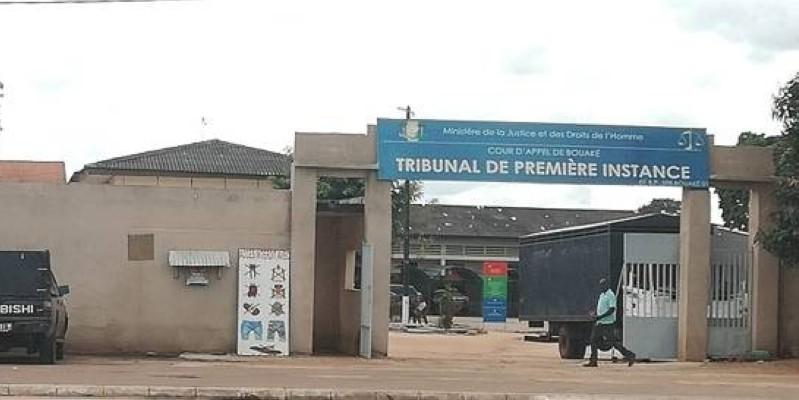 Une vue du tribunal de Bouaké (DR)