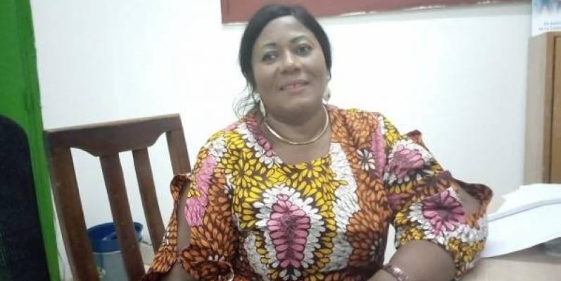 Mme Célestine Mouna, présidente Afrimousso (Dr)