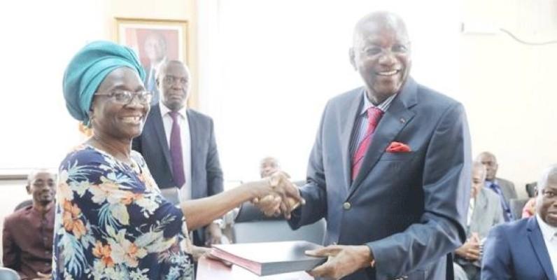 Le ministre Pascal Abinan rassure la directrice régionale de l'Oit Cynthia Samuel Olonjuwon (DR)