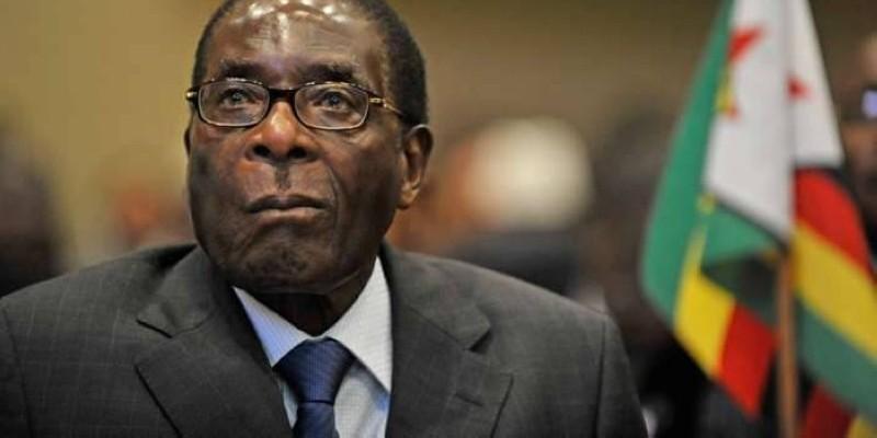L'ex-Président zimbabwéen Robert-Mugabe (DR)