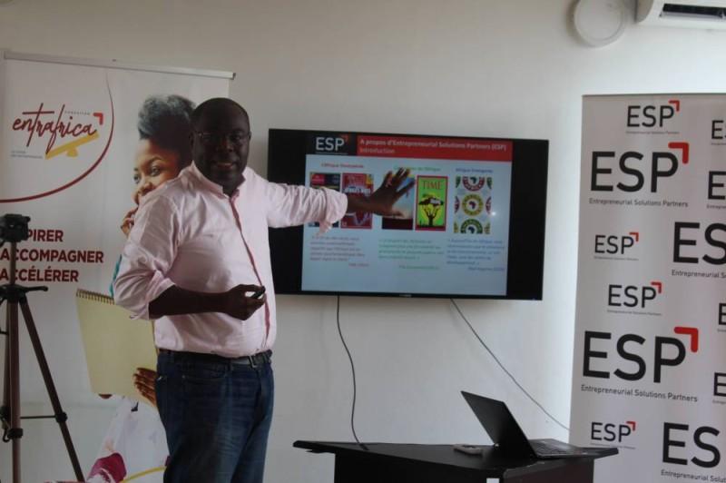 Eric Kakou Ceo d'Entrepreneuriales solutions partners (DR)