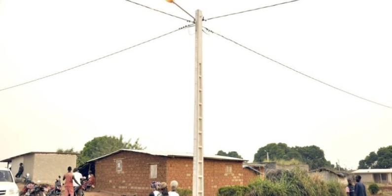 Le taux de couverture en électricité connaît une hausse à Niakaramadougou. (Cicg)