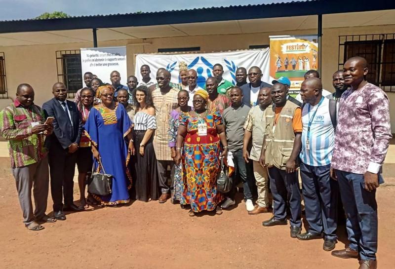 Les délégations de l'espace communautaire Volta noire (Esco-Volta) à l'ouverture de l'atelier sur « Contribution des Osc de l'Esco-volta à l'intégration des peuples, la lutte contre extrémisme violent et l'apatridie » (Salif D. CHEICKNA)