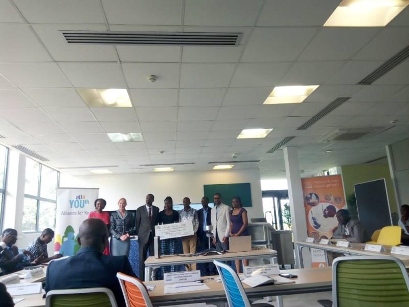 Les lauréats ivoiriens du projet ''Innovation challenge'' ont reçu leurs prix. (Marie-Ange Akpa)