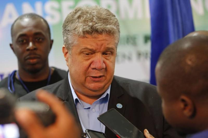 Samy François Gaiji, le représentant de la Fao en Côte d'Ivoire. (DR)