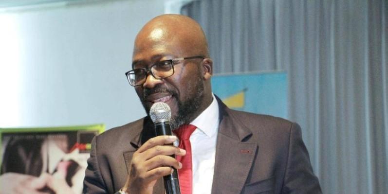 Ambroise Boni, directeur de Moov Business. (DR)