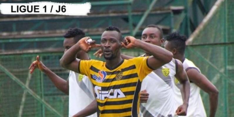 Salif Bagaté (Asec Mimosas) a été élu meilleur joueur du mois de novembre de la Ligue 1. (DR)