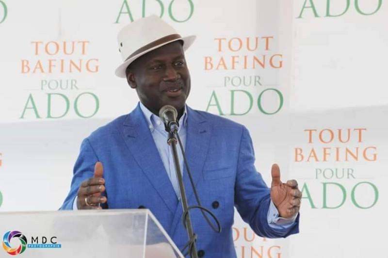 Le directeur exécutif du Rhdp, Adama Bictogo. (DR)