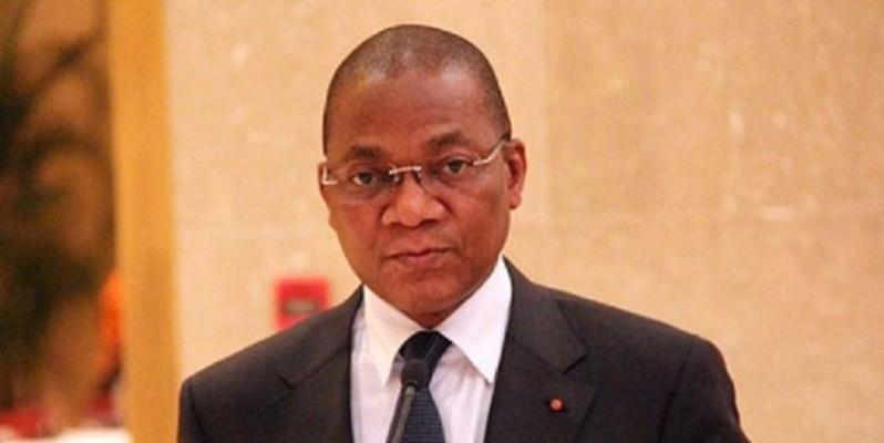 Le ministre de la Construction, du Logement et de l'Urbanisme, Bruno Koné. (DR)