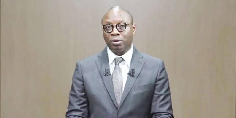 Alain Sourou Orounla, ministre de la Communication et de la Poste du Bénin. (DR)