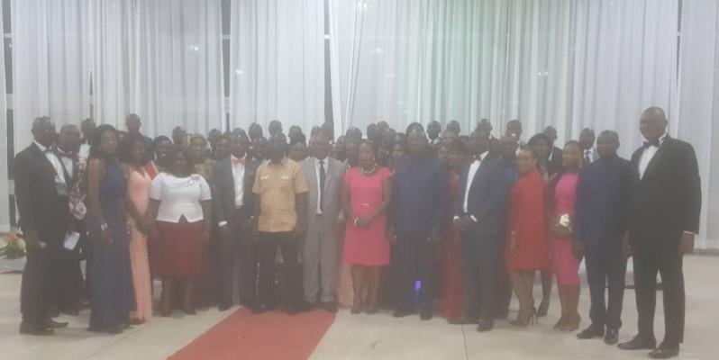 Les fonctionnaires du premier groupe de la 5e promotion des auditeurs de la fonction publique de l'Ena. (DR)
