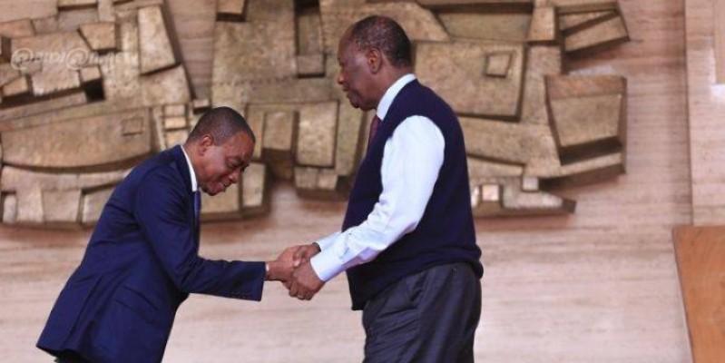 Charles Koffi Diby avait été reconduit président du Cesec fin octobre 2019. (DR)