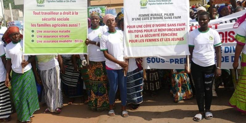 Les femmes rurales célébrées à Divo. (DR)