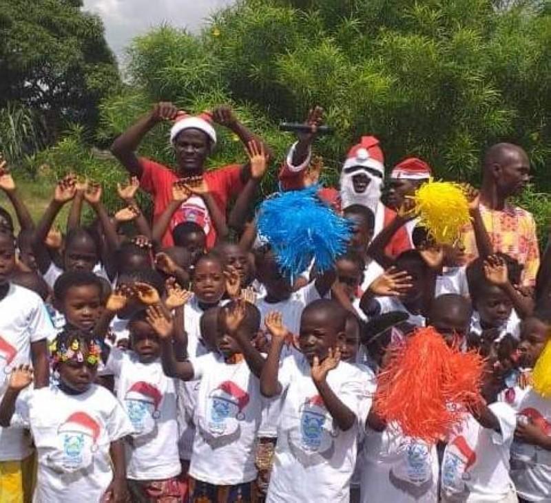 L'Ong « Je bâtis Soubré » a offert des cadeaux à plus de 500 enfants