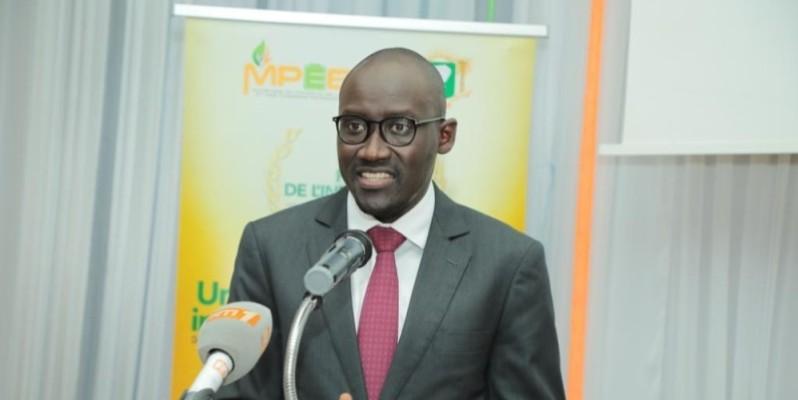 Le ministre du Pétrole, de l'Énergie et des Énergies renouvelables, Abdourahmane Cissé, au lancement du prix, le 16 septembre. (DR)