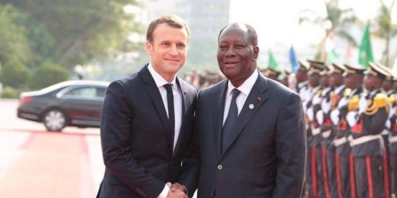 La visite officielle du Président français en Côte d'Ivoire durera 3 jours. (Dr)