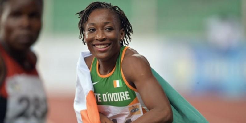 Marie Josée Ta Lou, l'une des athlètes les plus en vue  de la saison. (PHOTO : DR)