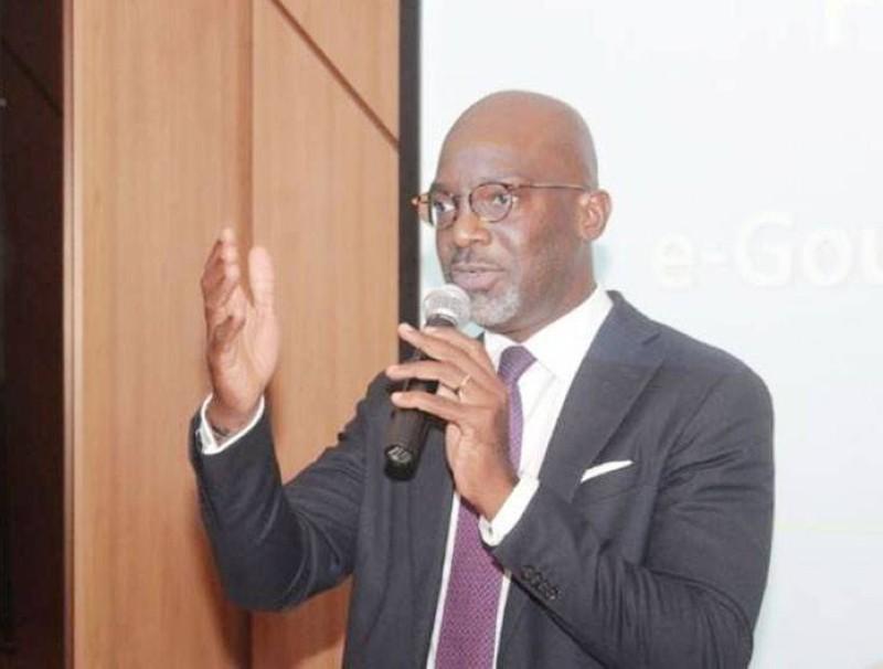 Le directeur général d'Ecobank Côte d'Ivoire, Paul Harry Aithnard. (DR)