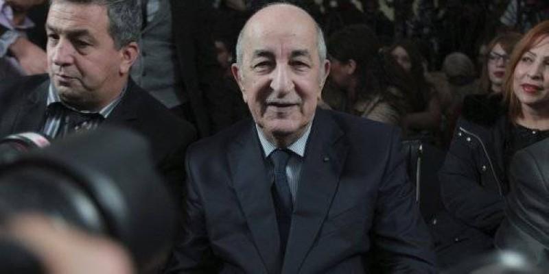 Le nouveau président de l'Algérie, élu au premier tour avec plus de 58 % des voix (Ph: DR)