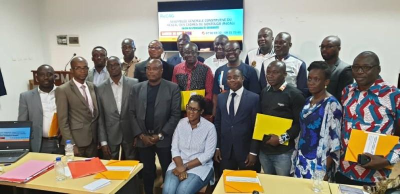 Anzata Ouattara a promis de travailler avec les cadres de tous les départements de la région.