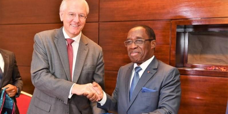 Le ministre ivoirien de la santé et de l'hygiène publique, Aka Aouélé. (Primature)