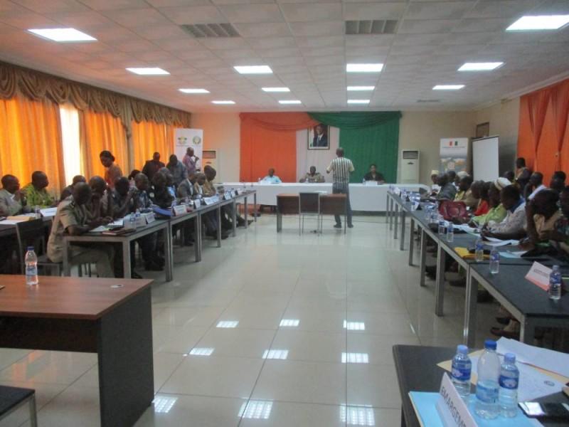 Les participants à l'atelier d'Abengourou (DR)