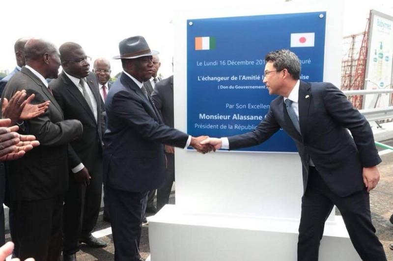 Le Président Alassane Ouattara (présidence ci)