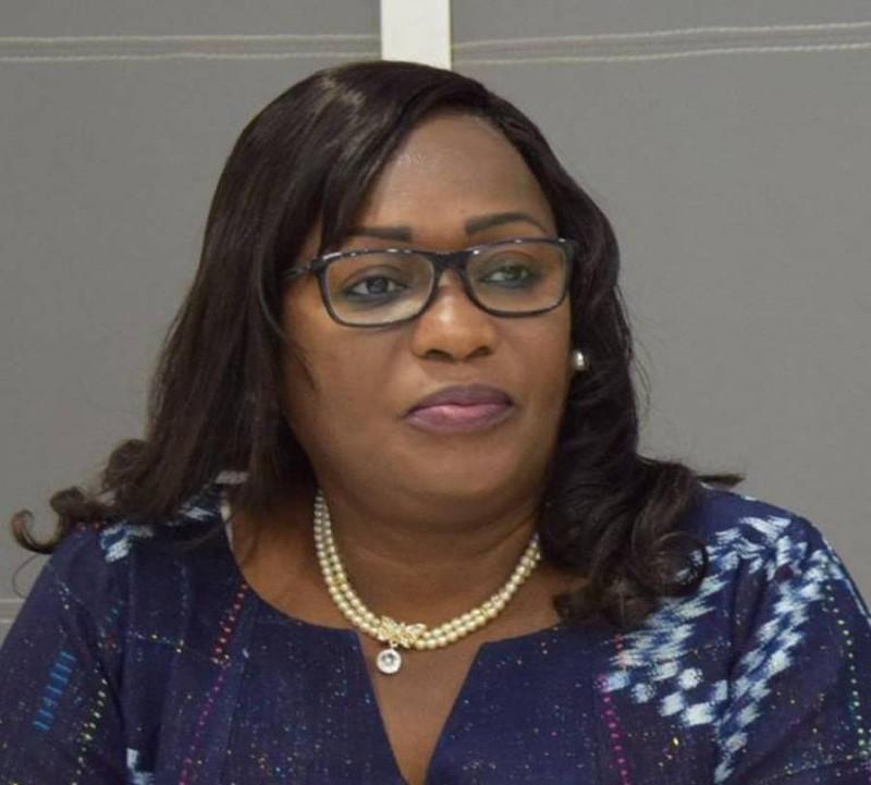 Namizata Sangaré, présidente du Conseil national des droits de l'homme (DR)