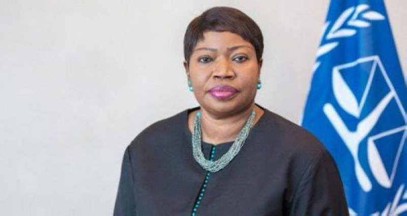 Fatou Bensouda, la procureure générale de la Cpi.  (Dr)