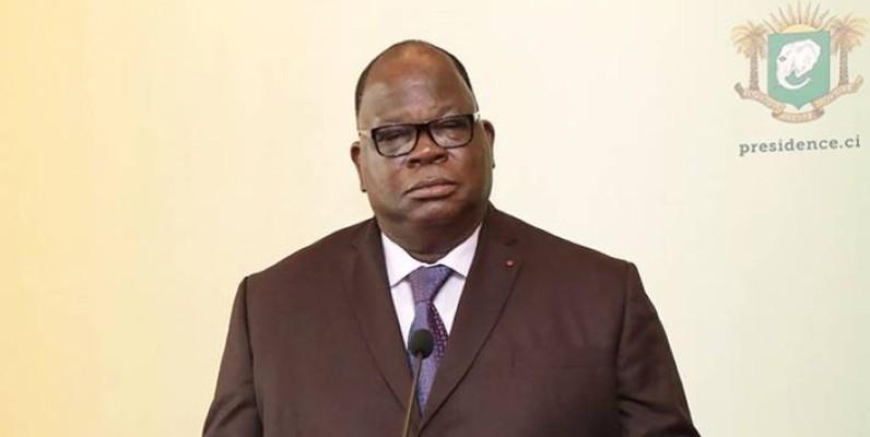 Laurent Tchagba, le ministre ivoirien de l'hydraulique. (Cicg)