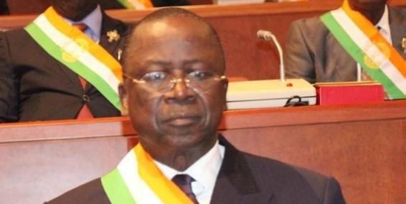 Jeannot Ahoussou-Kouadio, président du Senat ivoirien. (DR)