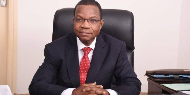 Pr Joseph Séka Séka, ministre de l'Environnement et du Développement durable. (DR)