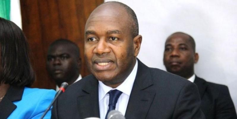 Le ministre de l'administration du territoire et de la décentralisation Sidiki Diakié