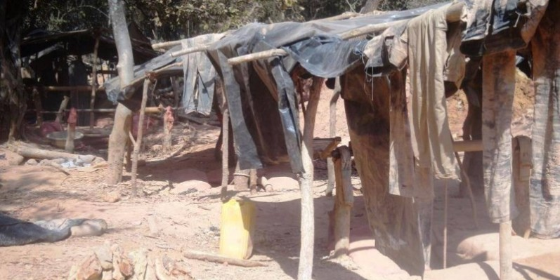 Un réseau d'orpailleurs clandestins dans la forêt classée de Badénou démantelé. (DR)