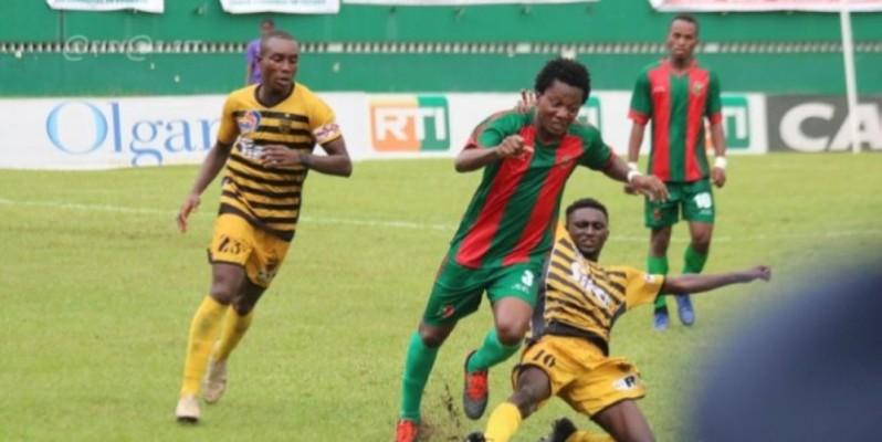 L'Africa est très attendu au stade Biaka Boda par le Sporting. (DR)